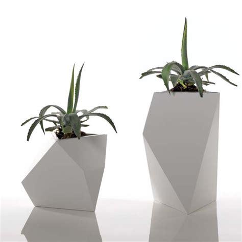 vasi alluminio bysteel vaso kobol m cm h alluminio smaltato bianco