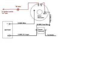 one wire alternator wiring diagram one free engine image for user manual