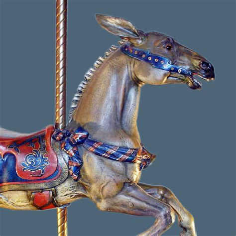 on the house dentzel mule from house on the rock antiquecarousels com