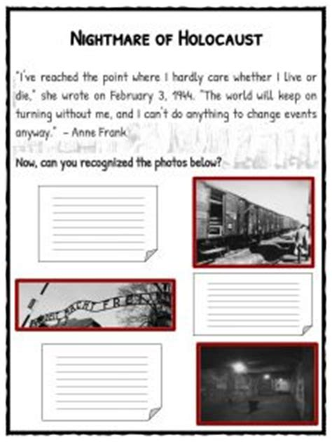 biography ks2 ww2 anne frank facts biography worksheets for kids
