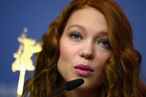 lea seydoux beauty and the beast lea seydoux at beauty and the beast press conference at
