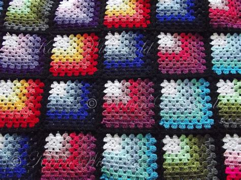 pattern crochet granny square mitered granny square blanket free crochet pattern