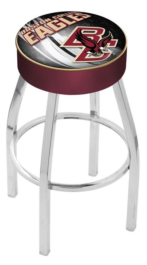 bar stools boston boston college bar stool w official college logo family