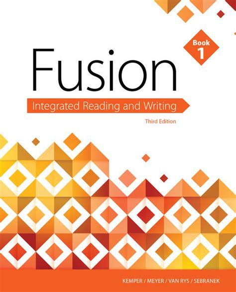 fusion integrated reading and writing book 1 books ebook fusion integrated reading and writing book 1