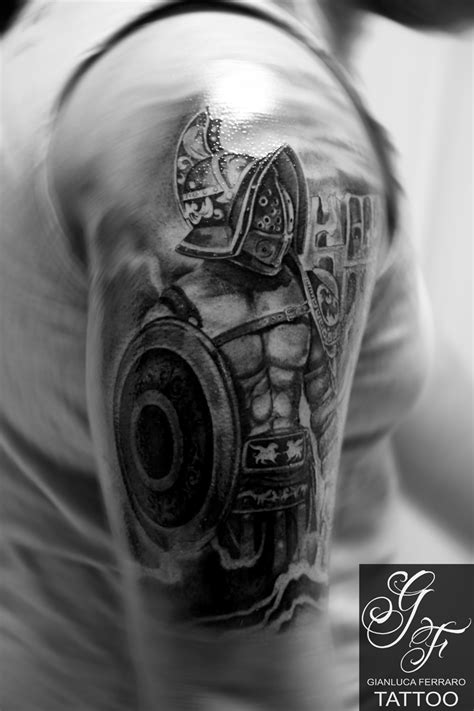 Guerriero by Gianluca Ferraro Tattoo