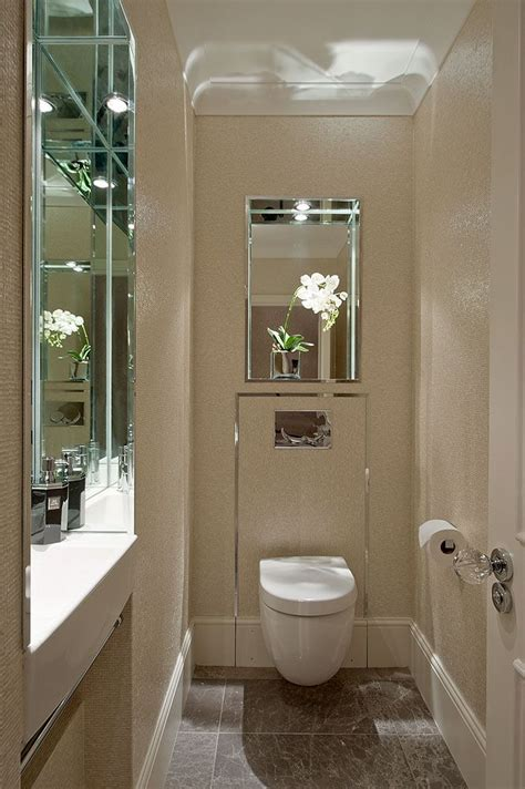 guest wc  sink recessed   wall  hill house