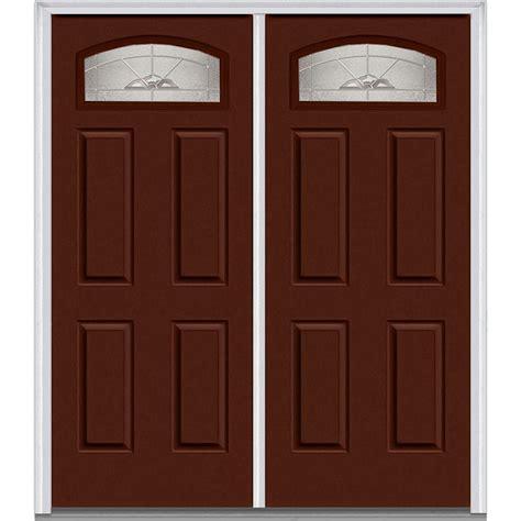steel exterior doors for home milliken millwork 62 in x 81 75 in master nouveau