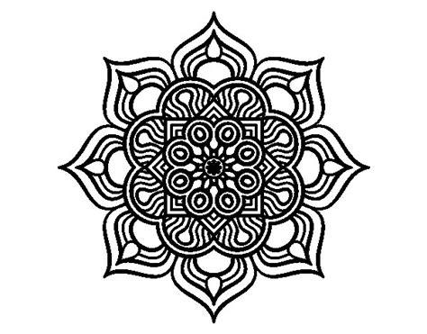fiore da colorare e stare disegno di mandala fiore di fuoco da colorare acolore