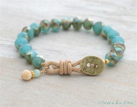 Beachy Boho Jewelry by Jonara Blu Maui   Beach inspired jewelry made on Maui