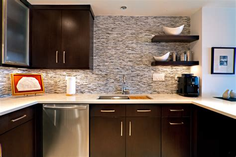 Kitchen Remodel Houzz Condo Kitchen Contemporary Kitchen Other Metro By