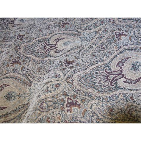 lane furniture upholstery fabric 3 yards heavy chenille paisley upholstery fabric from
