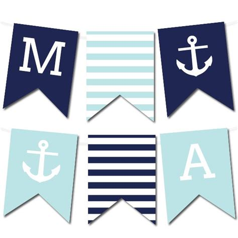 25 best ideas about nautical banner on pinterest