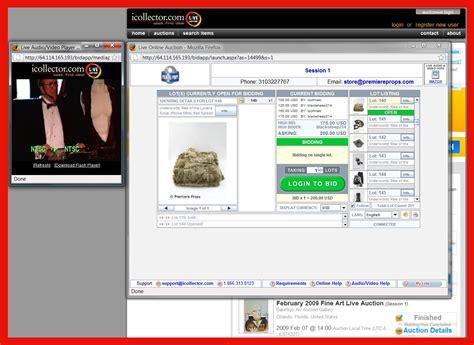 live bid revisiting remote bidding auction services