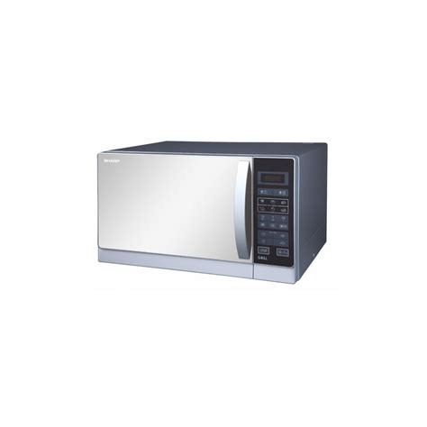 Microwave Sharp 25 L sharp microwave 25 liter with grill silver color r 75mr s