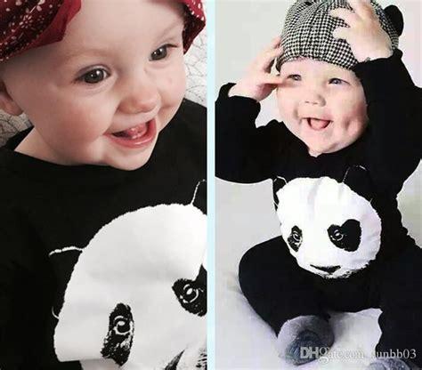 Baby Panda One 2017 baby panda one rompers infant boys