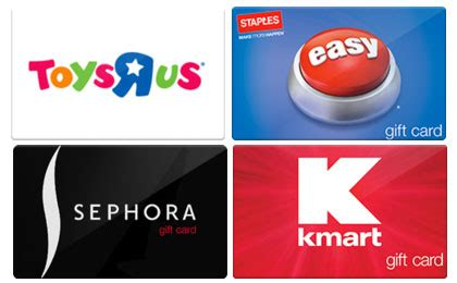 Sephora Gift Cards At Kroger - hot 10 off 20 gift card sephora toys r us applebees kmart staples simple