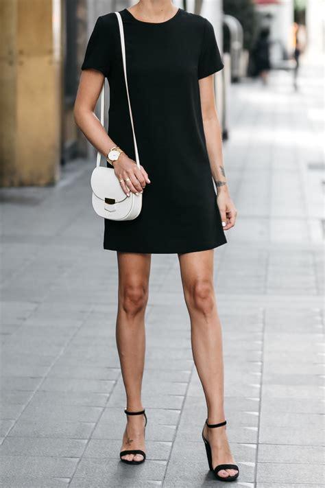 black shift dress fashion jackson