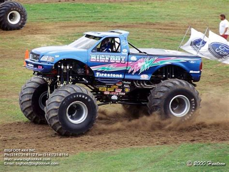bigfoot the truck 253 best images about bigfoot truck on