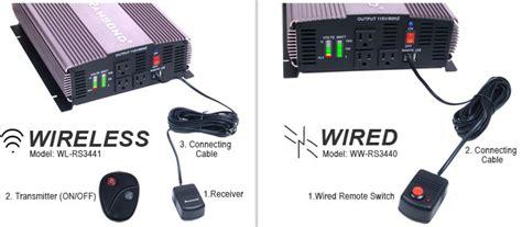 Remot Remote Ac Panasonic Inverter Kw ramsond sunray 3000 sine wave power inverter 12v dc to 115v ac 60hz 3000w