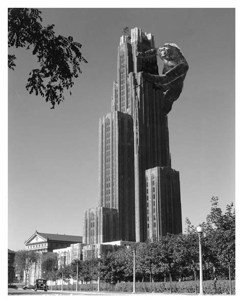 Pittsburgh's Cathedral of Learning - Alternate Histories