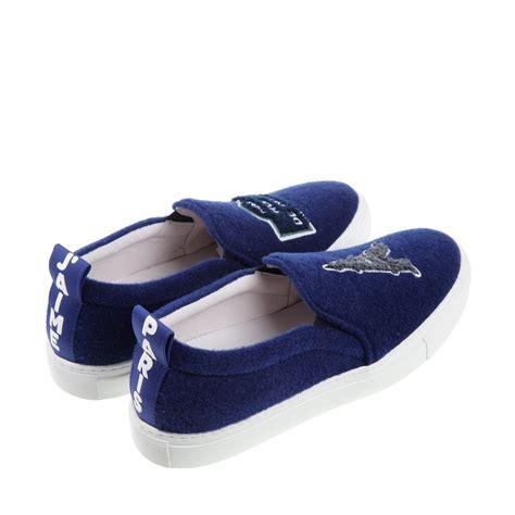 joshua sanders sneakers joshua sanders sneakers in blue lyst