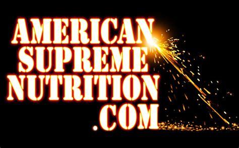 american supreme american supreme nutrition home