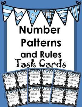 numeric pattern rule 1000 ideas about number patterns on pinterest math