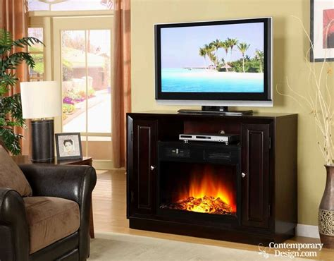 electric fireplace tv stand