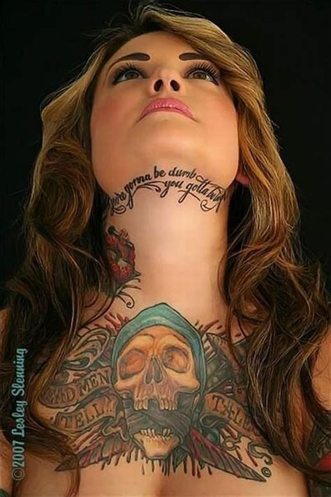 best tattoo girl ever girl coolest tattoo ever
