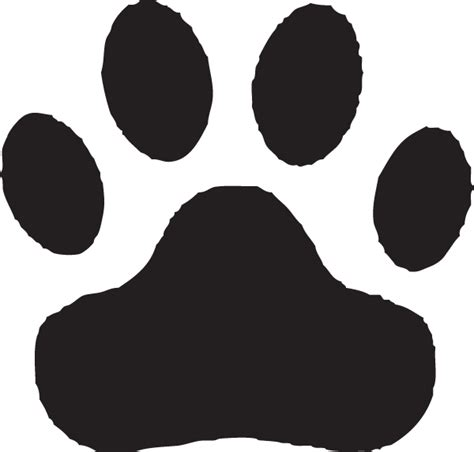 Bobcat Paw Print Outline by Free Bobcat Paw Print Outline Free Clip Free Clip On Clipart Library