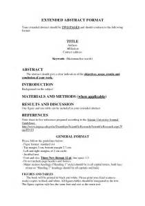 Abstract Essay Writing by Best Photos Of Abstract Exle Apa Research Paper Apa Format Research Paper Abstract Exles