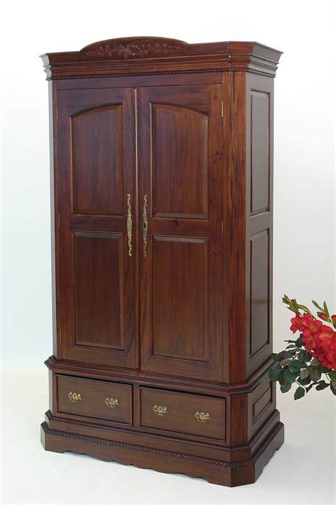 Kleiderschrank Mahagoni by Zweit 252 Riger Kleiderschrank Im Antik Stil Mahagoni Schr 228 Nke