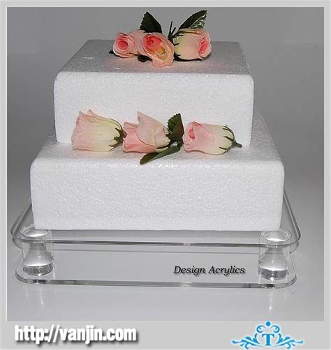 square wedding cake stand bling wedding cake stand drum 14 square silver
