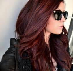chocolate cherry hair color pictures hair styles