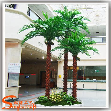 preserved outdoor palm tree artificial plastic palm trees