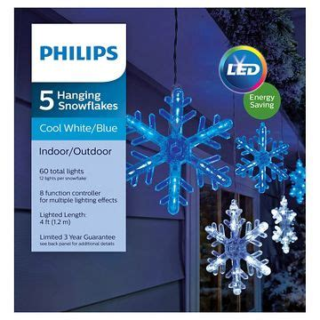 phillips led cascading cool white christmas icles icicle lights lights string lights target