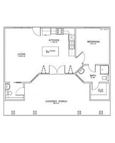 pool guest house floor plans 12 x 24 cabin floor plans google search cabin coolness