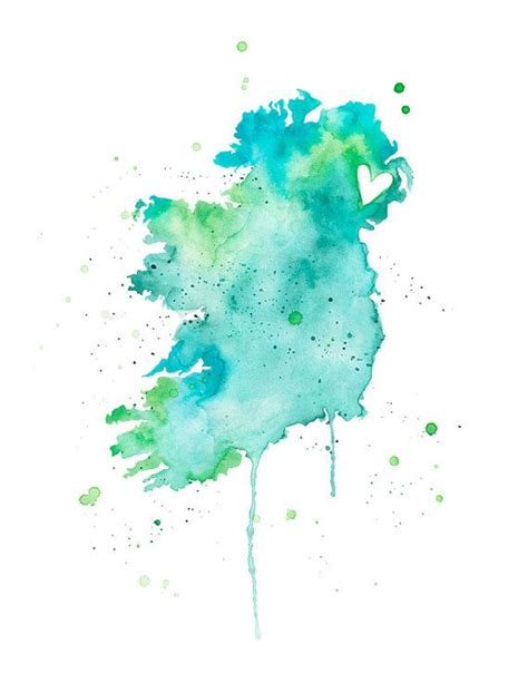 watercolor tattoo ireland 25 best ideas about ireland on gaelic