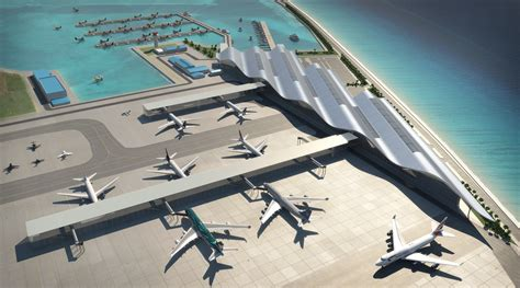 Coastal Plans Male International Airport 3dreid