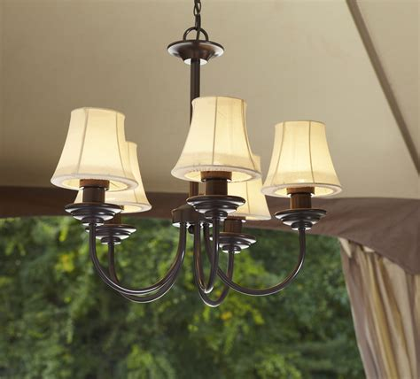 Outdoor Gazebo Chandelier Lighting Garden Oasis Electric Chandelier Shop Your Way Shopping Earn Points On Tools