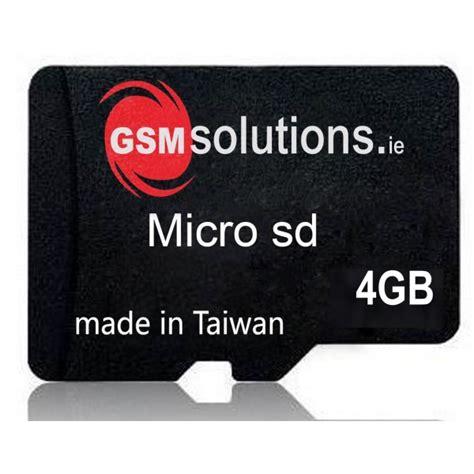 Memory Card Micro Sd gsm solutions micro sd memory card