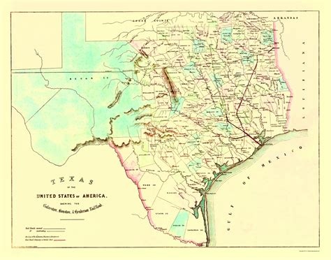 railroad map texas railroad maps texas railroad map galv houst hender rr by king c 1872