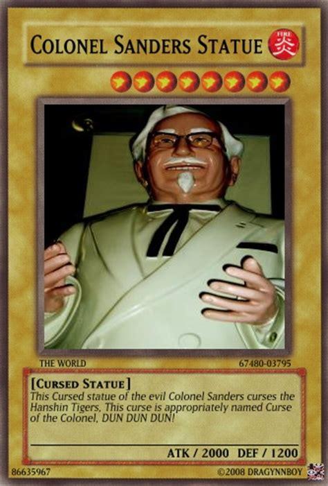 Colonel Sanders Memes - colonel sanders statue by dragynnboy on deviantart