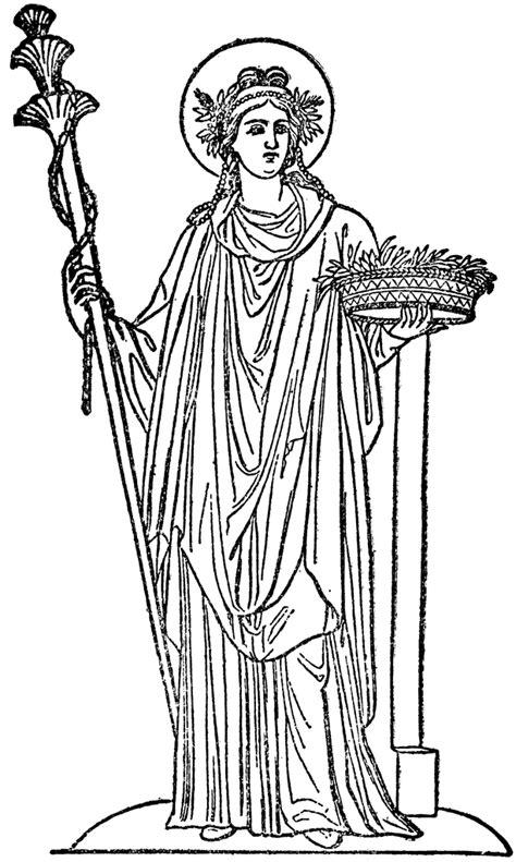 harvest of demeter goddess symbol demeter goddess of the harvest