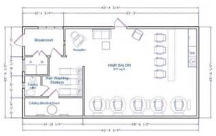 Floor Plan Of A Salon by Hair Salon Floor Plan A Floor Plan Of A Hair Salon That