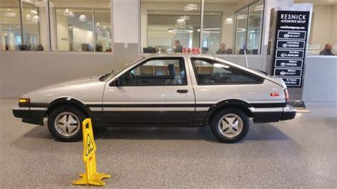 1984 Toyota Corolla Gts For Sale Toyota Corolla Sr5 Sport Hatch Back 24k Original