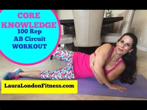 knowledge 100 ab rep circuit workout with