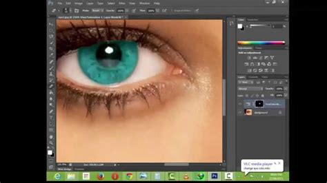 How To Change Hairstyle In Photoshop Cs6 by How To Edit Eye Color On Ribbet Newhairstylesformen2014