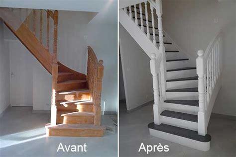 Couleur Peinture Cage Escalier by Nos R 233 Alisations D Int 233 Rieur Les Avant Apr 232 S Chantiers