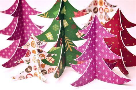 tannenbaum basteln diy weihnachten miomodo diy blog